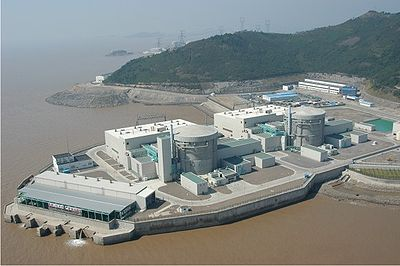 Qinshan Phase III Units 1 & 2, located in Zhejiang China. Photo courtesy of AECL.