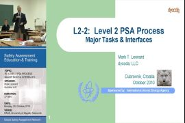 Level 2 PSA Process (Major Tasks & Interfaces)
